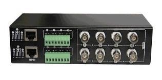 balunera pasiva 8 canales con bornera a bnc + rj45