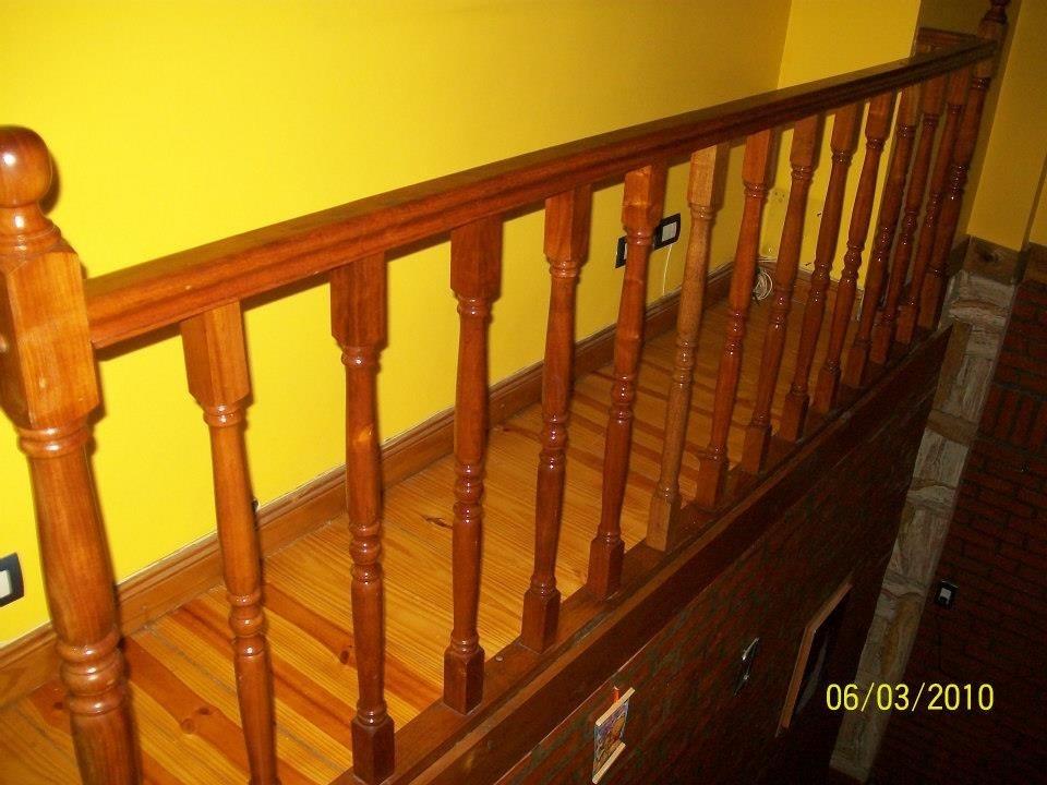 Barandas para escaleras de madera barandas para escaleras for Escalera plegable aluminio sodimac