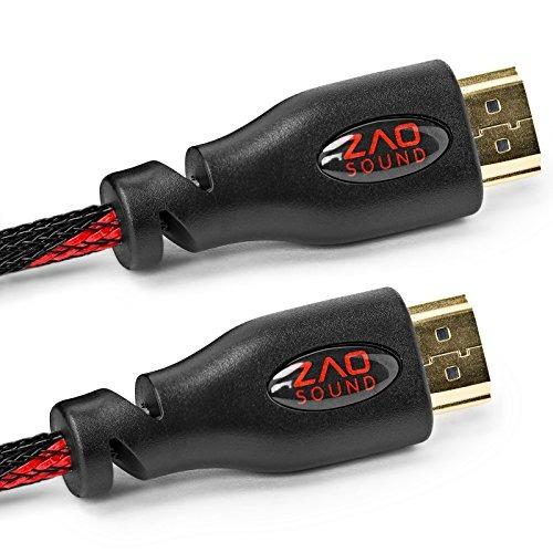 bam 3 pack high speed ¿¿4k cables hdmi - 10 'de lar