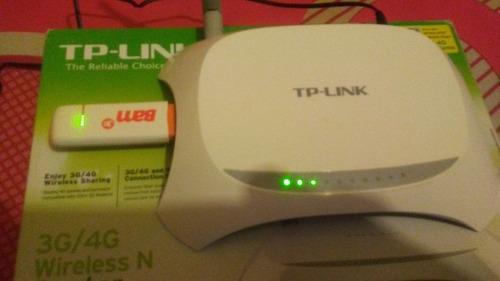 bam digitel 4g lte + router tp link 4g combo wifi punto de v