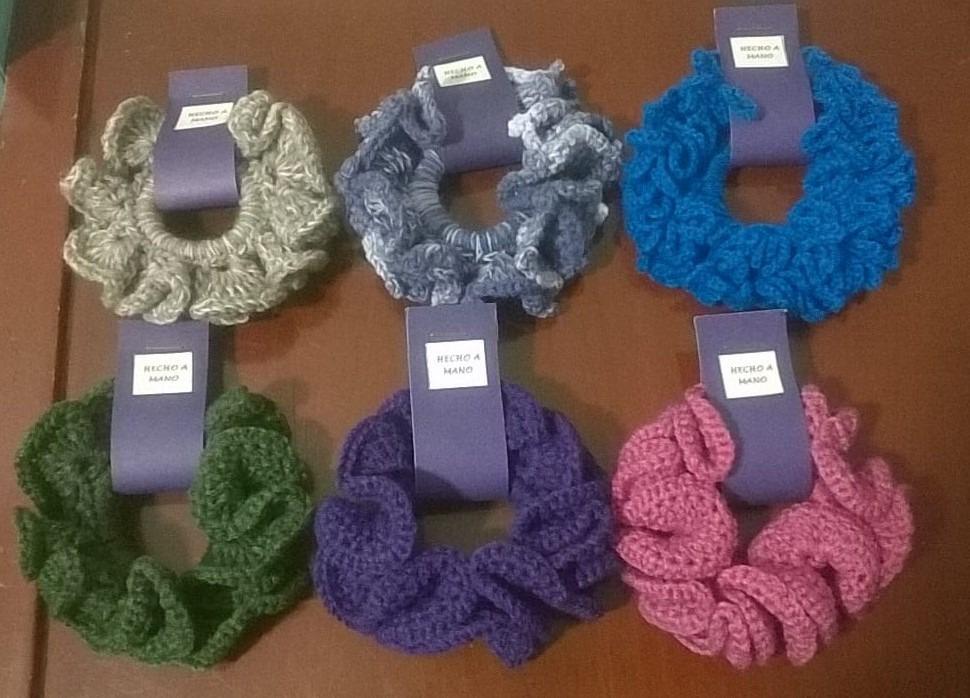 bambas o moñas tejidas en crochet 5 000 en mercado libre