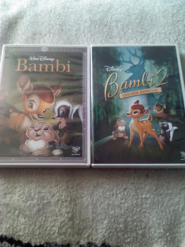 bambi edicion diamante y bambi 2