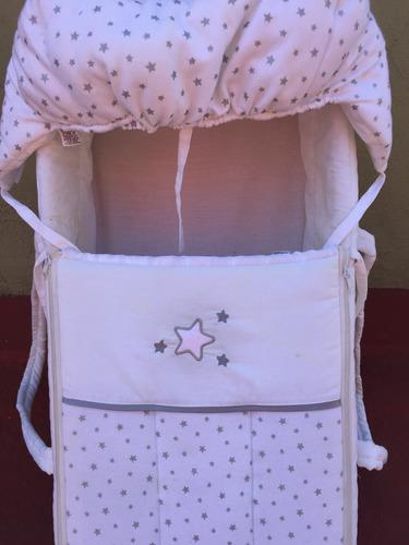 bambineto para bebe recien nacido blanco.