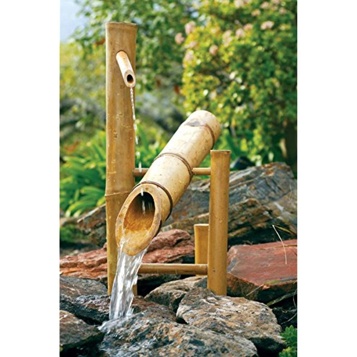 Shishi Odoshi Prezzo.Bamboo Accents 20 Fuente Oscilante Shishi Odoshi