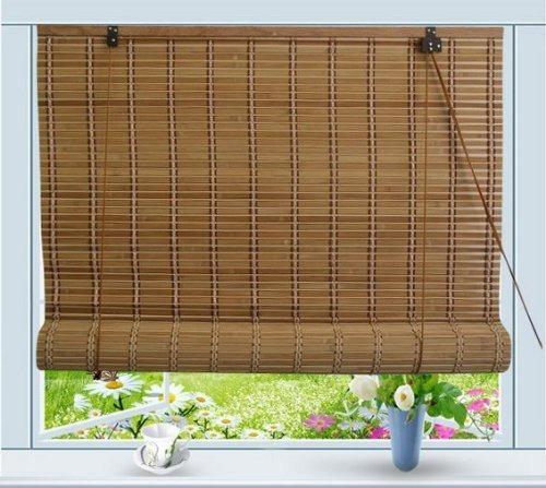 bamboo enrollable ventana persiana cpula sol envio gratis