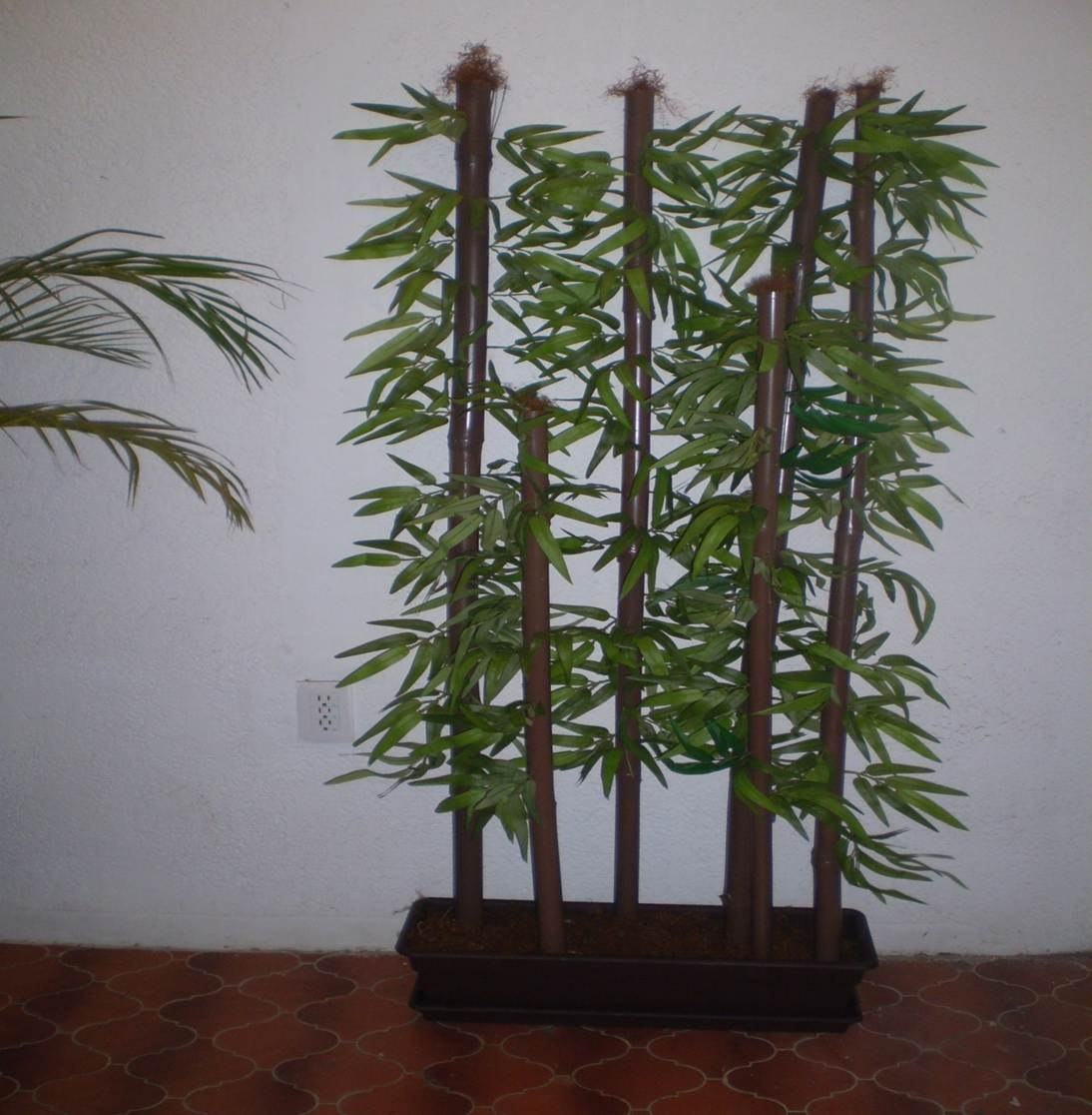 Bambu artificial decorativo 3 en mercado libre for Plantas de interior artificiales
