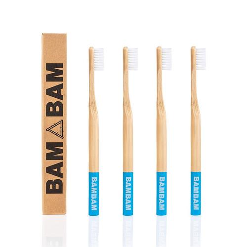 bambú cepillo de dientes, eco amigable, natural, madera - p