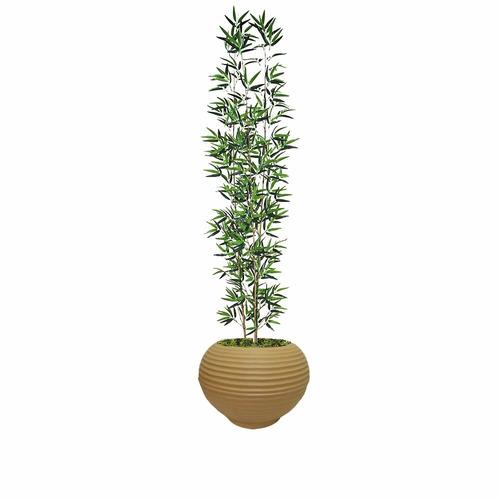 bambú mossô artificial reto vaso plastico lindo 1 metro
