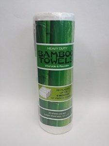 bambú toallas - para lavar a maquina heavy duty reutilizable