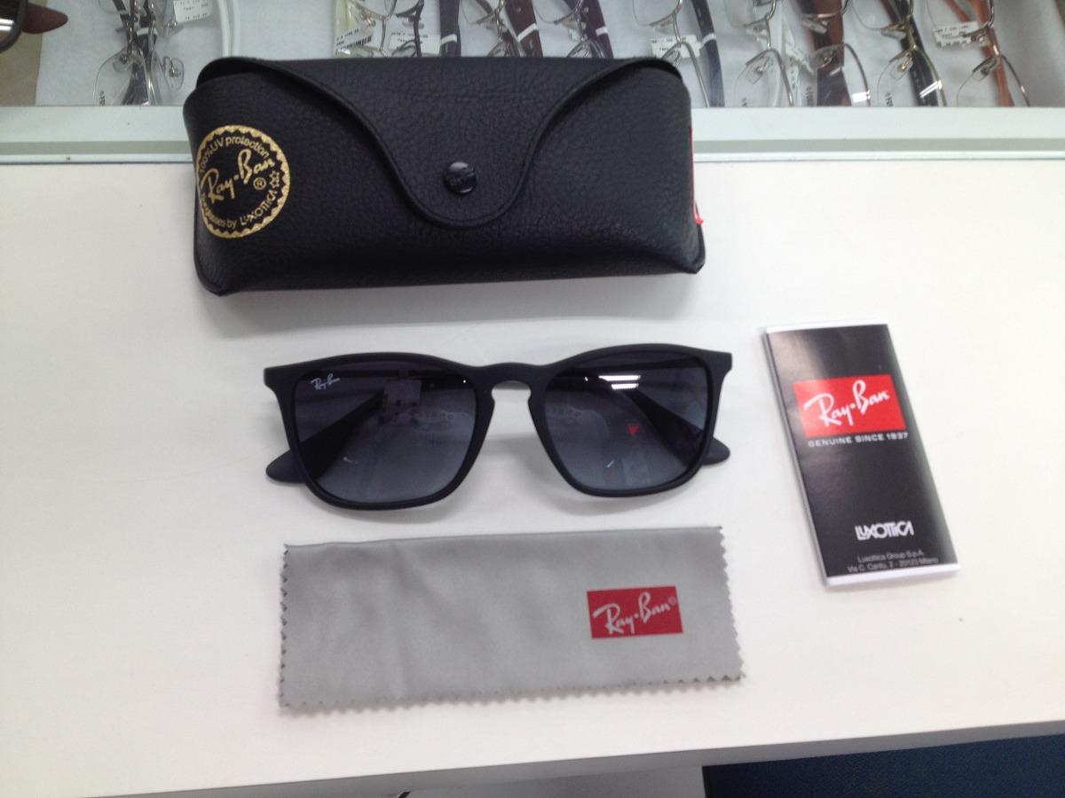 Oculos Solar Ray Ban Rb4187l Chris 622 8g - R  399,99 em Mercado Livre 8f57b9c667