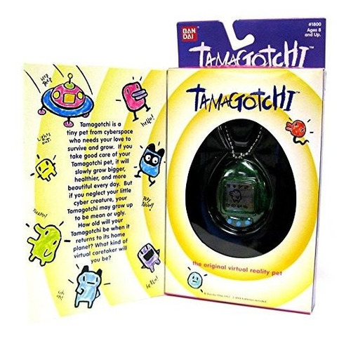 ban dai  tamagotchi original realidad virtual pet  los color
