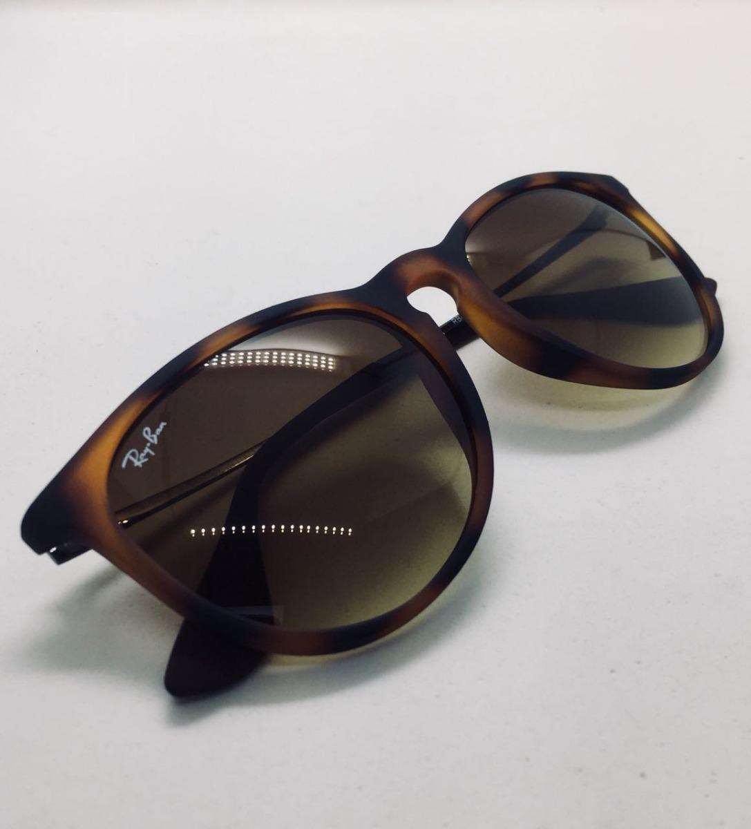 624a89090e265 Óculos Ray Ban Erika Rb 4171 Tartaruga Original Mais Brinde - R  220 ...