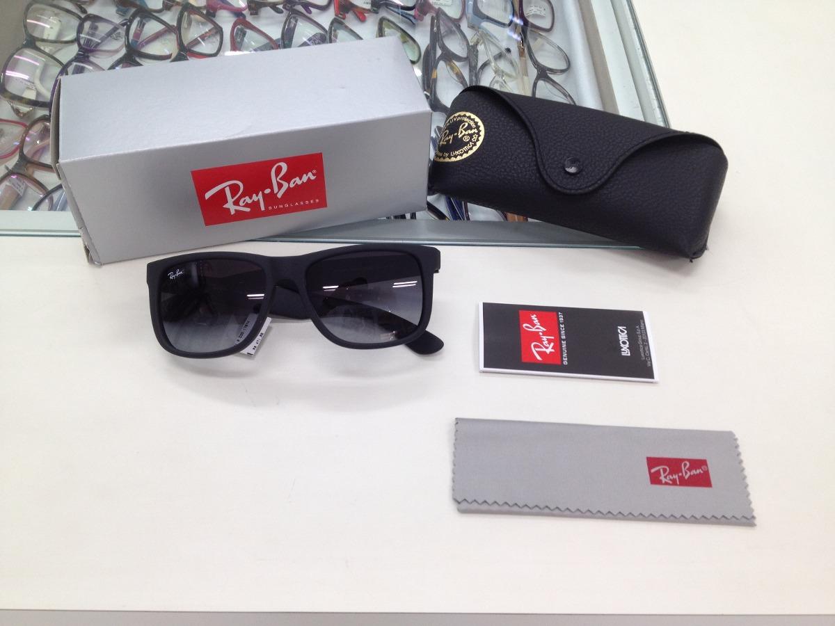 Oculos Solar Ray Ban Rb 4165l Justin 601 8g 55 Original - R  399,99 ... bc783d7932