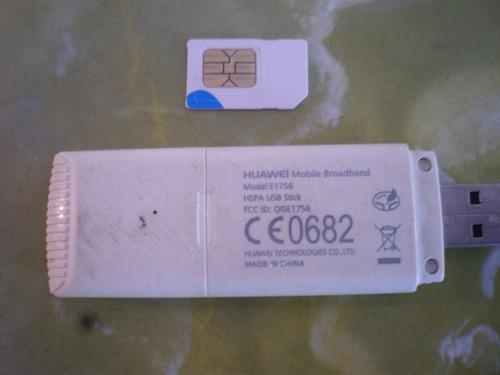 ban movistar huawei mobile modelo e1756 sin linea
