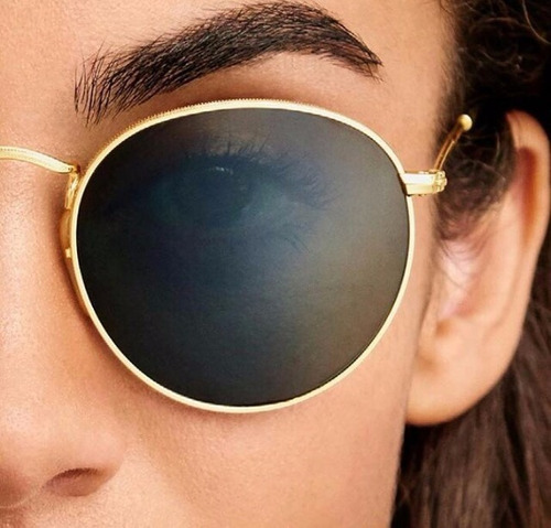 bc584fa45a6a0 óculos ray ban 3447 rayban round metal feminino redondo