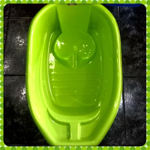 bañadera/bañera mediana reforzada/jabonera