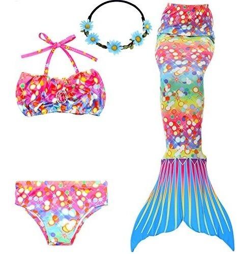 6b6565427 Banador 3 Piezas Banador Para Nina Bikini De Cola De Sirena - $ 98.098.098  en Mercado Libre
