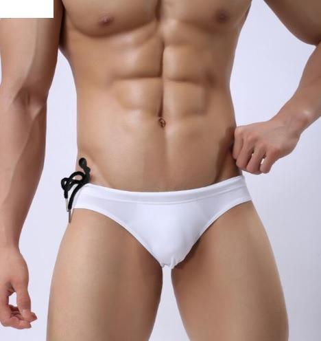 7cf6714f857f Bañador Bikini Hombre Traje De Baño Blanco Brave Person