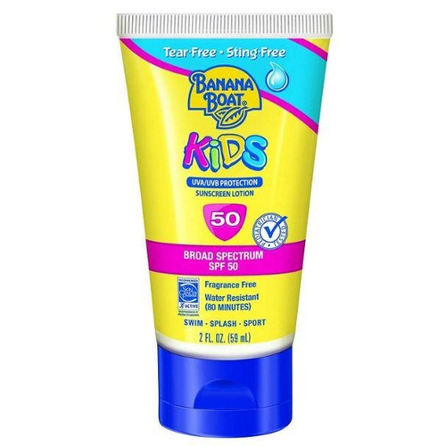 banana boat kids protetor solar sunscreen lotion