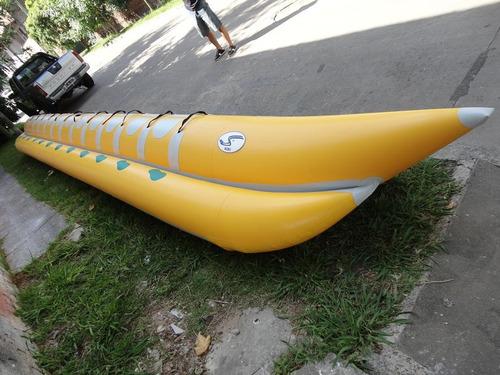 banana inflable 10 personas - astillero tozzoli