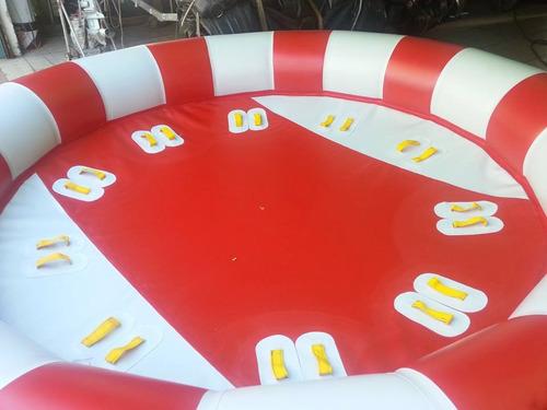 banana inflable y juegos de arrastre inflables