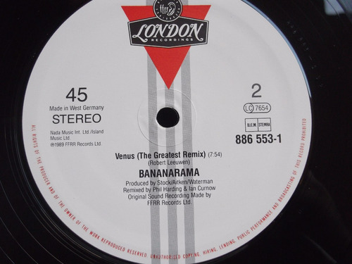 bananarama - cruel summer´89 , venus (the greatest remix)