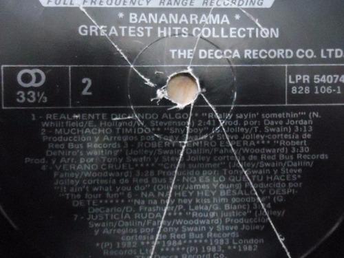 bananarama / greatest hits collection vinyl lp acetato