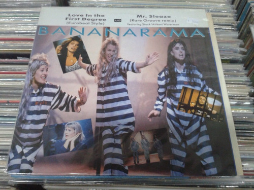bananarama - love in the first degree (12  maxi single)