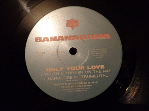 bananarama only your love 12  uk maxi disco vinil acetato