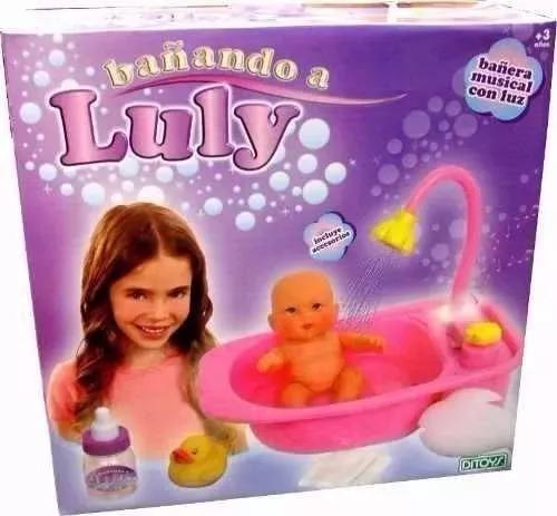 bañando a luly ducha real ditoys original tv casa valente