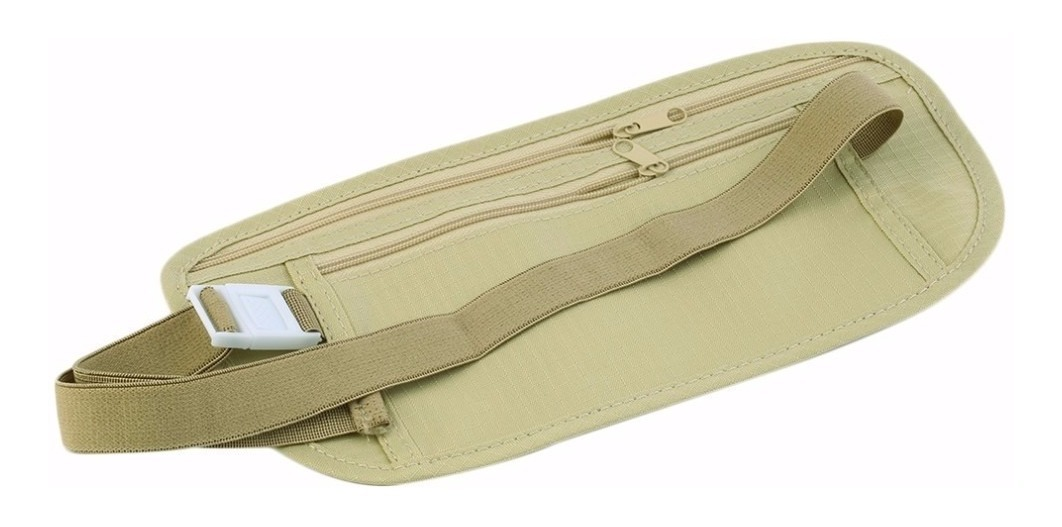 varios colores 3d816 61788 Banano /cinturon De Viaje Seguridad Para Dinero Y Pasaporte
