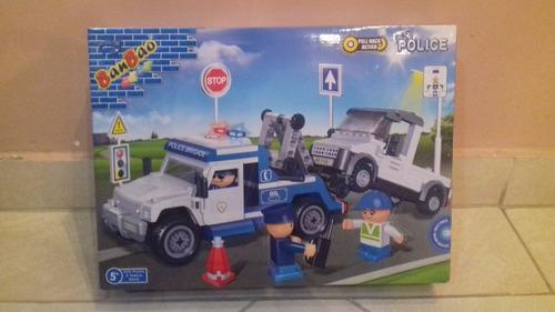 banbao blocos de montar policia guincho - bonellihq l18
