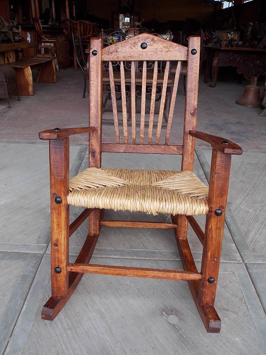 Banca mecedora balancin de madera y tule estilo antiguo for Mecedoras de jardin