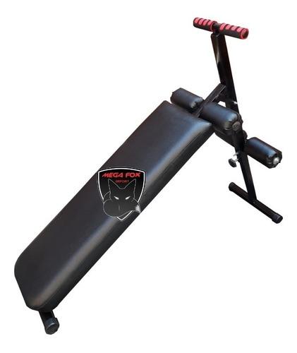banca para abdominales con 5 niveles gimnasio ejercicios