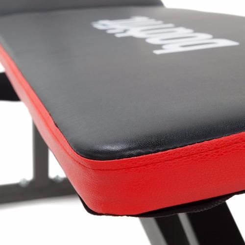 banca para ejercicio con ligas de resistencia body fit negro