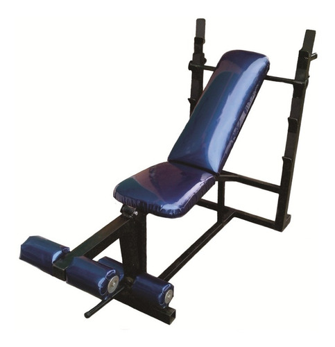 banca para pecho con ejercitador de pierna y barra paralelas