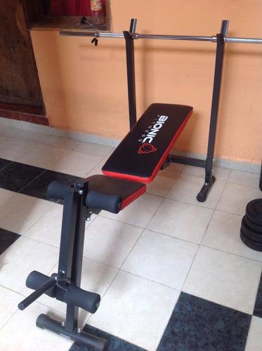 banca para pesas bionic