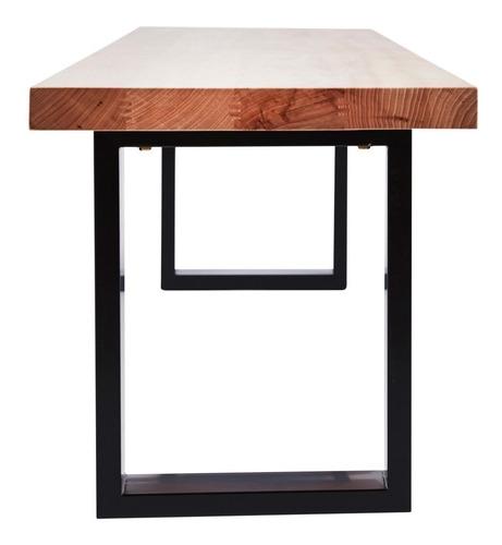 banca resistente de madera y metal ¡envío gratis!