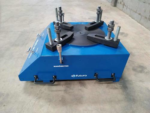 bancada de ensaio de válvulas de segurança e alívio