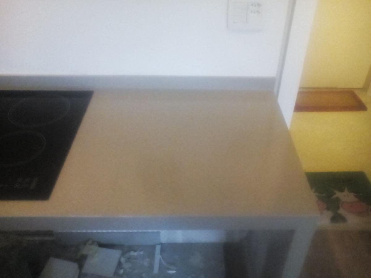 Bancada De Porcelanato Para Cozinha  R$ 1350,00 em Mercado Livre # Bancada Para Cozinha Mercadolivre