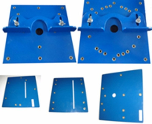 bancada multifunçãok2+5 placas adapt.+acessórios p/serra