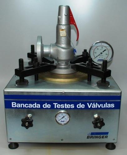 bancada para teste de válvulas de segurança