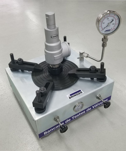 bancadas para calibração e ensaios de válvulas de segurança