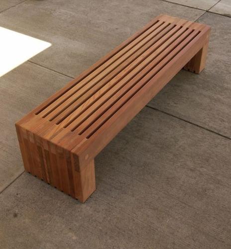 bancas en madera para usos múltiples super resistentes