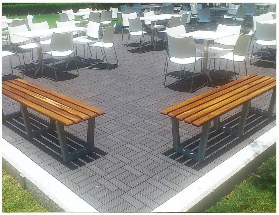 Bancas para exterior muebles mesas de picnic hoteles for Muebles para hoteles