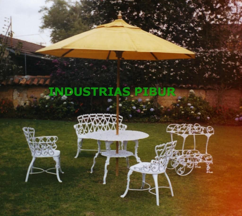 Bancas para exterior terrazas y jardin en for Comedores exteriores para terrazas