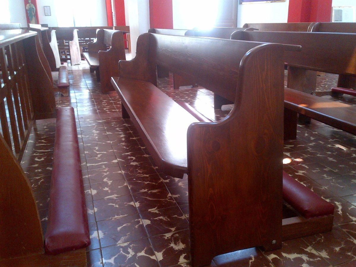 Bancas Y Muebles Para Iglesia - $ 100.00 en Mercado Libre