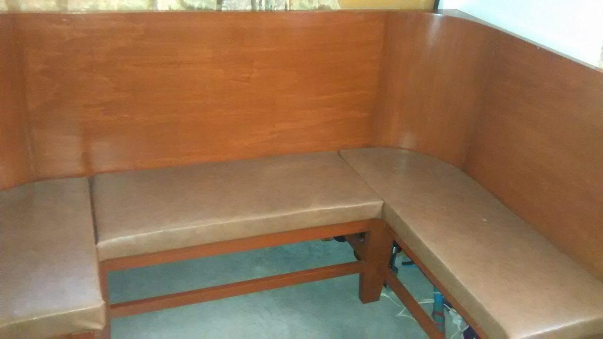 Bancas/mobiliario De Madera Para Cafeteria, Sala,oficina ...