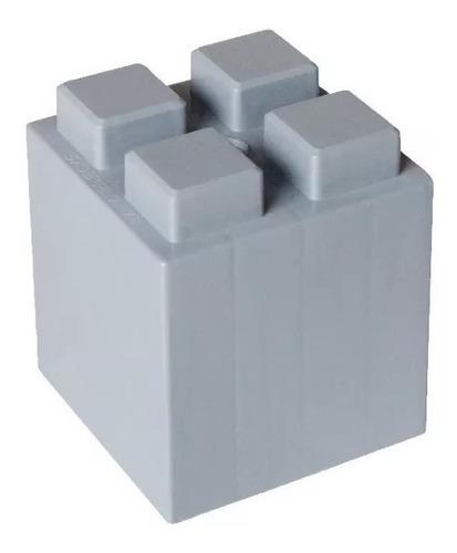 banco 2 escalones bloques plásticos - ladrillos gigantes
