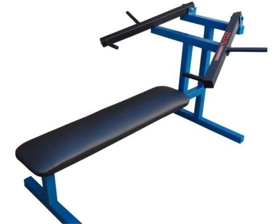 Banco pecho convergente aparatos de gimnasio musculacion for Aparatos gimnasio